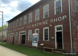 WA Young and Sons Machine Shop and Foundry in Rices Landing PA