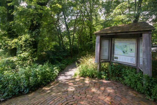 Brandywine River Conservancy hiking trails