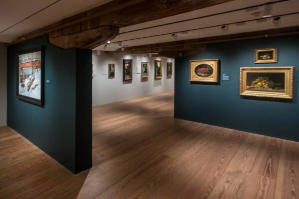Inside the Brandywine River Museum of Art near Philadelphia, PA