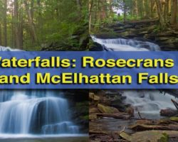 Pennsylvania Waterfalls: Visiting Rosecrans Falls and McElhattan Falls in Clinton County
