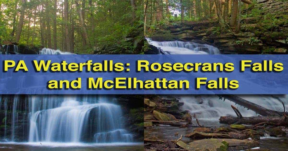 How-to-get-to-Rosecrans-Falls-and-McElhattan-Falls in Loganton, Pennsylvania