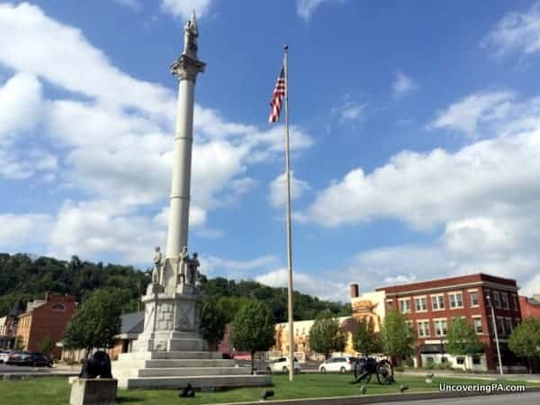 Monument Square Lewistown PA