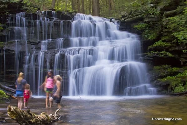 UncoveringPa's Top Pennsylvania Travel Photos of 2015: Rosecrans Falls in Clinton County, PA