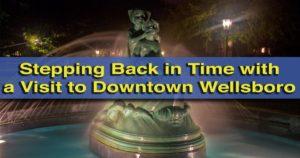 Visiting downtown wellsboro pa