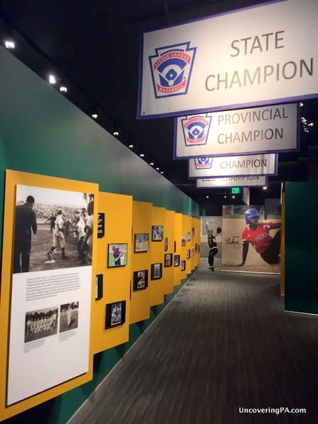 Things to do during the Little League World Series: Visit the World of Little League.