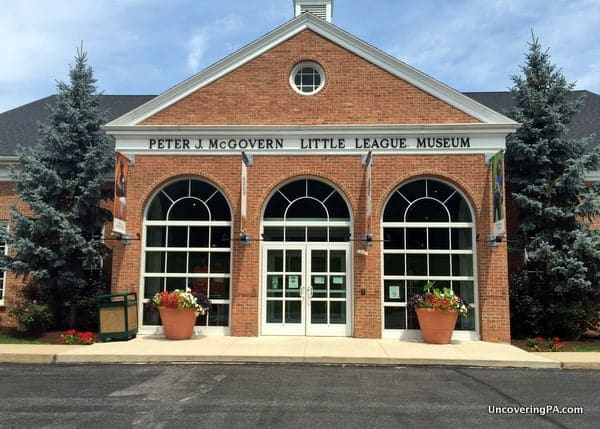 The World of Little League Museum in Williamsport PA