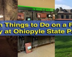 10 Fun Things to Do on a Rainy Day at Ohiopyle State Park