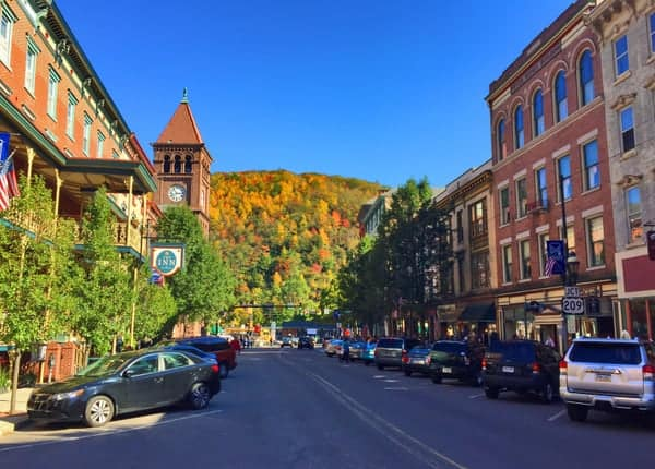 Fall in Jim Thorpe Pennsylvania