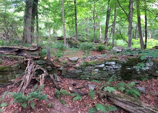 Mill Ruins near Tanners Falls Honesdale Pennsylvania
