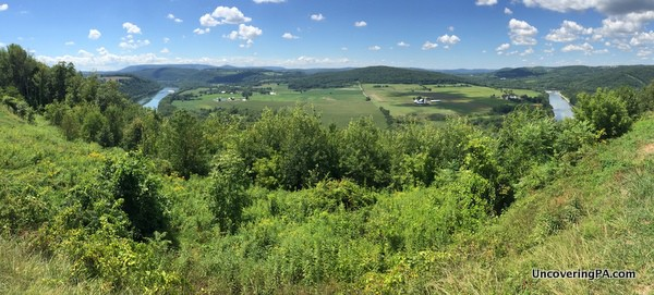 Panorama from Marie Antoinette Overlook