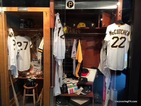 Pittsburgh Pirates Lockers PNC Park, Pittsburgh PA