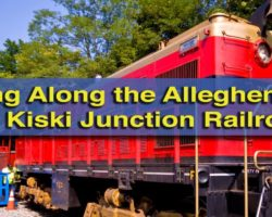 Riding the Rails along the Allegheny River with the Kiski Junction Railroad