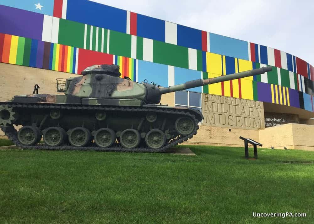Tank outside PA Military Museum