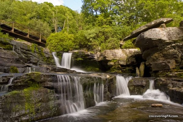 Visiting Tanners Falls in State Game Lands 159