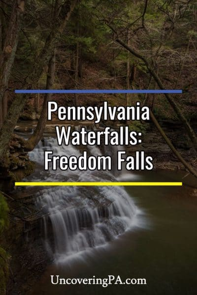 Pennsylvania Waterfalls: How to Get to Freedom Falls and Rockland Furnace