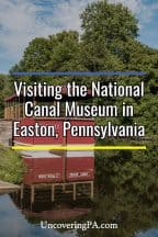 Exploring 19th-Century Transportation at the National Canal Museum in Easton, Pennsylvania