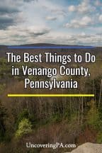The best things to do in Venango County, Pennsylvania