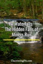 Miners Run waterfalls