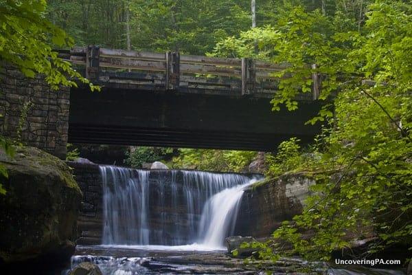 Waterfalls of Miners Run Rock Run Road Ralston PA