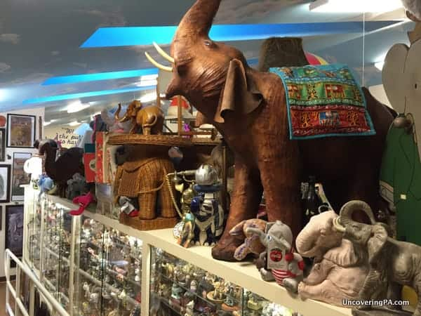 Mr Ed's Elephant Museum near Gettysburg Pennsylvania