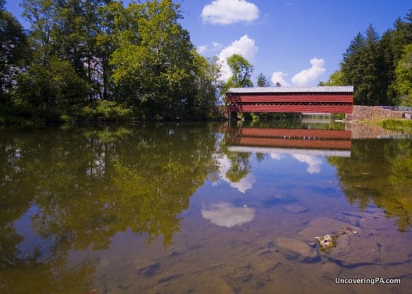 Sach's Covered Bridge in Gettysburg PA