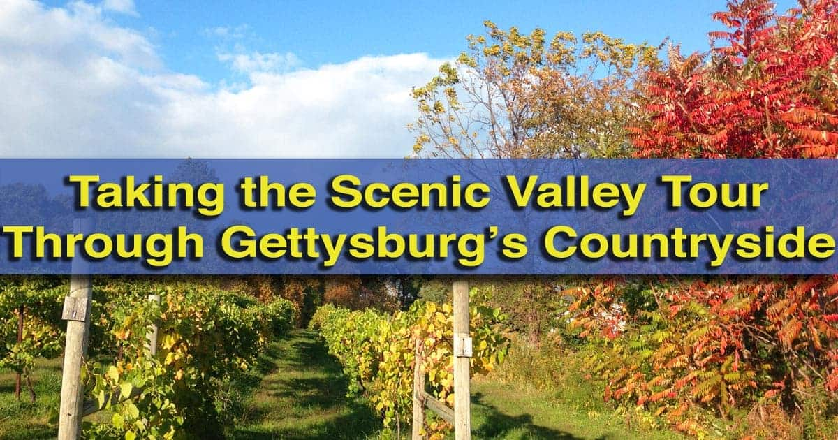 Scenic-Valley-Tour-Gettysburg-PA