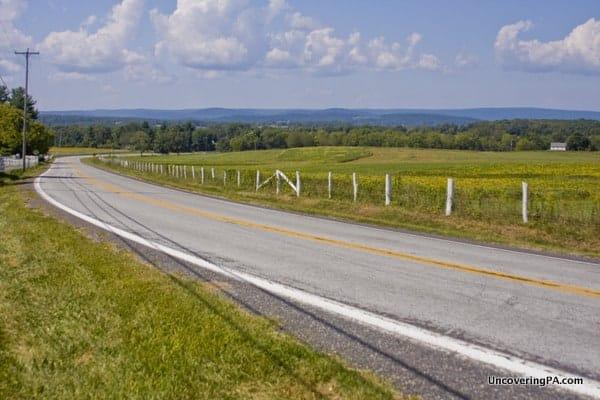 Scenic Valley Tour in Gettysburg Pennsylvania