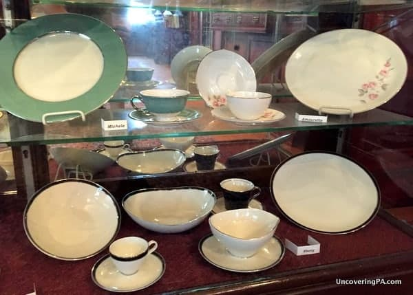 Shenango China Lawrence County Historical Society Museum New Castle PA.