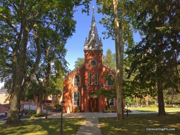 The beautiful St. Ignatius Loyola Church in northern Adams County, PA.