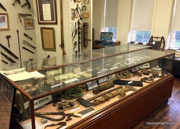 Wyoming County Historical Society Museum artifacts in Tunkhannock, PA