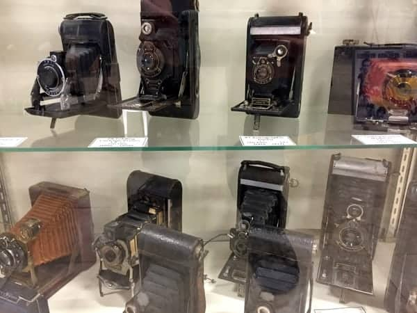 Cameras at the Isett Heritage Museum Huntingdon PA