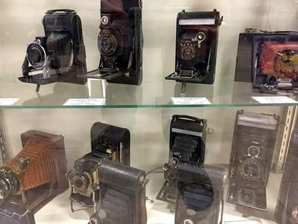 Cameras at the Isett Heritage Museum Huntingdon PA