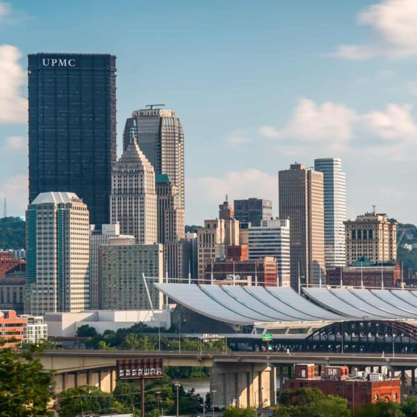 Troy Hill has one of the best views in Pittsburgh, Pennsylvania