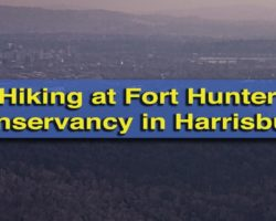 Hiking at Fort Hunter Conservancy for Great Views of Downtown Harrisburg