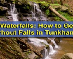 Pennsylvania Waterfalls: How to Get to Osterhout Falls near Tunkhannock