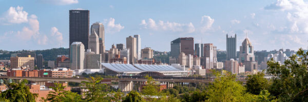 Best photo spot in Troy Hill of Pittsburgh's Skyline