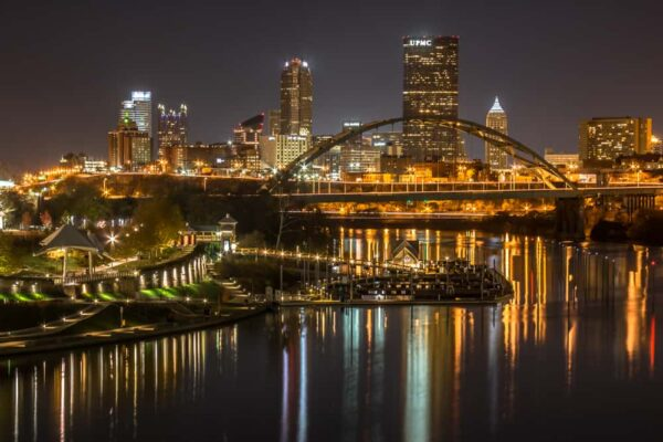 Photo Spots in Pittsburgh: Hot Metal Bridge