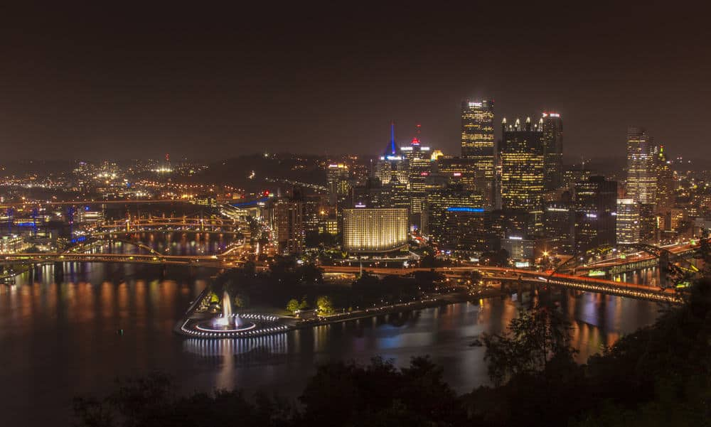 Visiting Mount Washington in Pittsburgh, Pennsylvania