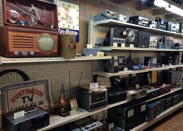 Radios at the Isett Heritage Museum, Huntingdon PA