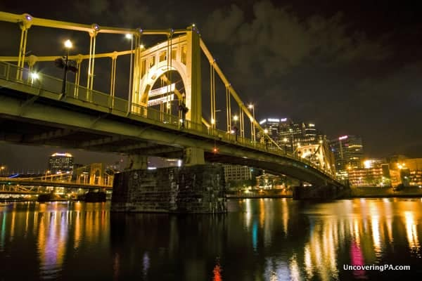UncoveringPA's top Pennsylvania travel photos of 2015: Roberto Clemente Bridge in Pittsburgh