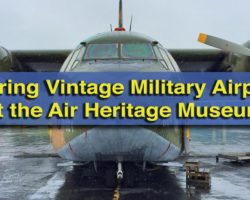 Exploring Vintage Military Airplanes at the Air Heritage Museum