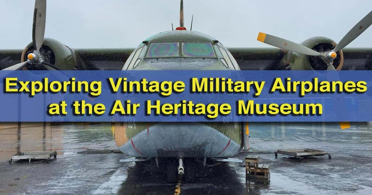 Visiting the Air Heritage Museum in Beaver Falls, Pennsylvania