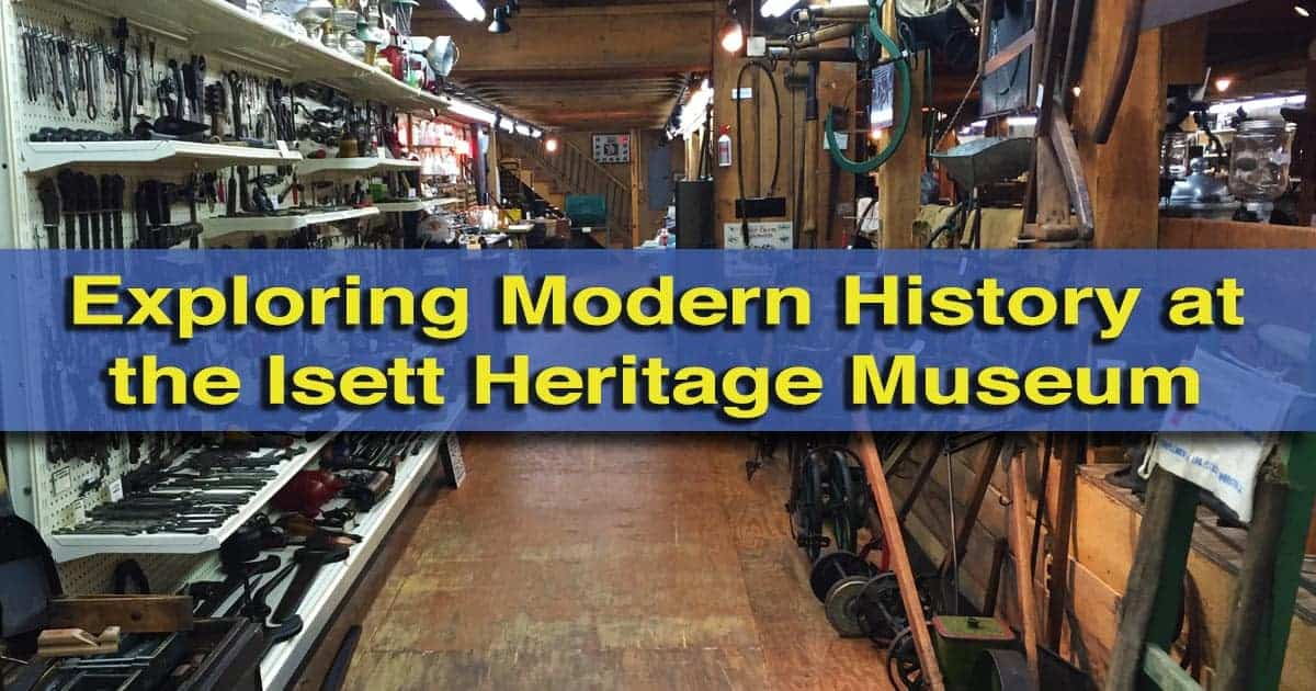 Visiting the Isett Heritage Museum in Huntingdon, PA