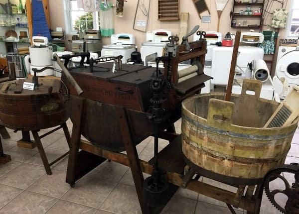 Washing Machines at the Isett Heritage Museum