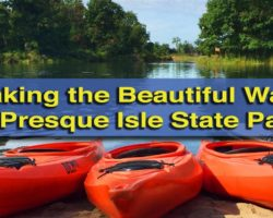 Kayaking the Beautiful Waters of Presque Isle State Park in Erie