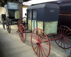 Visiting the Harlansburg Station Museum in New Castle, PA