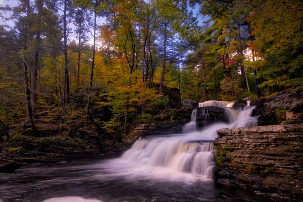 Waterfalls of the Poconos: George W Childs Park