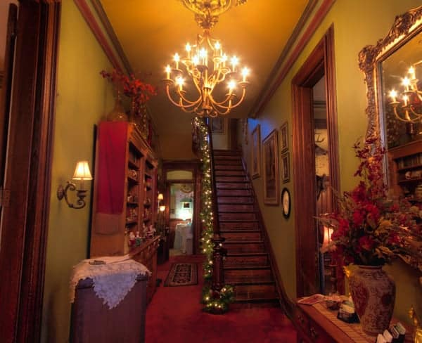 Hegarty Mansion Victorian Christmas