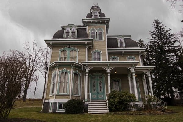 Hegarty Mansion in Beccaria, Pennsylvania