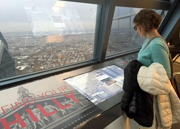 One Liberty Observation Deck in Philadelphia, Pennsylvania